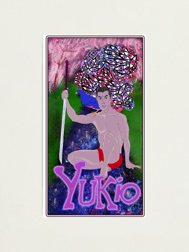 Alternate view of Yukio Mishima - A Portrait. Photographic Print