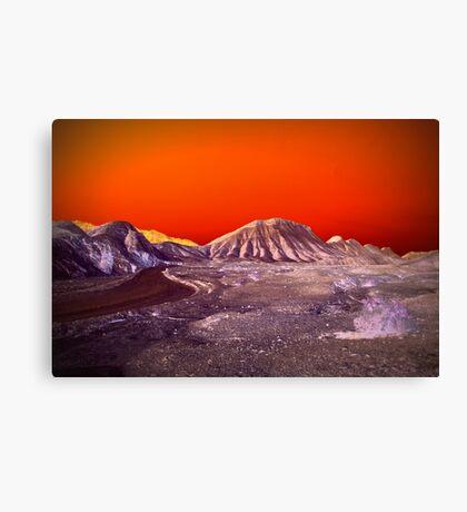 The Once and Future Malibu Canvas Print