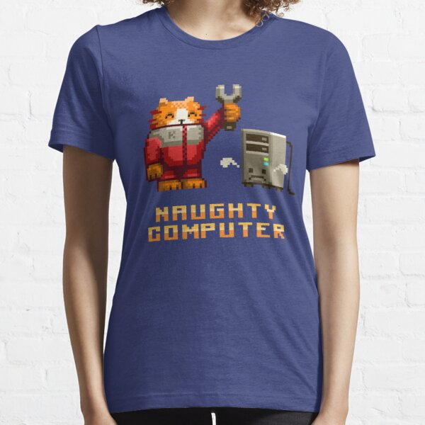 Naughty Computer Essential T-Shirt
