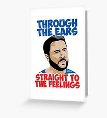 Straight to the Feelings Greeting Card