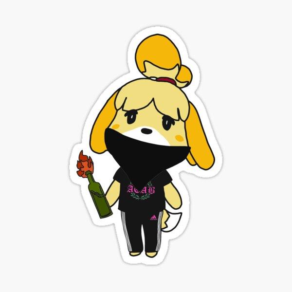 Antifa Isabelle - Animal Crossing  Sticker
