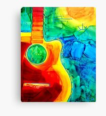 Colorful Cutaway Canvas Print