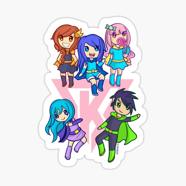 Itsfunneh Stickers Redbubble