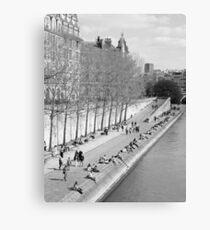 Springtime in Paris Canvas Print