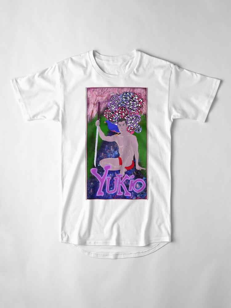 Alternate view of Yukio Mishima - A Portrait. Long T-Shirt
