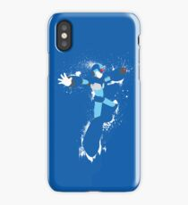Mega Man X Splatterfest iPhone Case