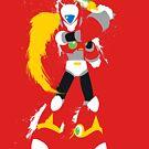 Splattery Maverick Hunter Zero  by thedailyrobot
