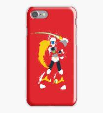 Splattery Maverick Hunter Zero  iPhone Case/Skin