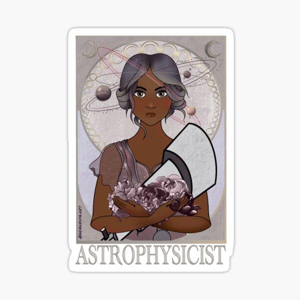 Astrophysicist (Art Nouveau) Sticker