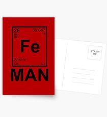 Fe (Iron) Man Postcards