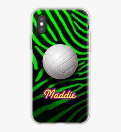 Volleyball Zebra - iPhone Case iPhone Case