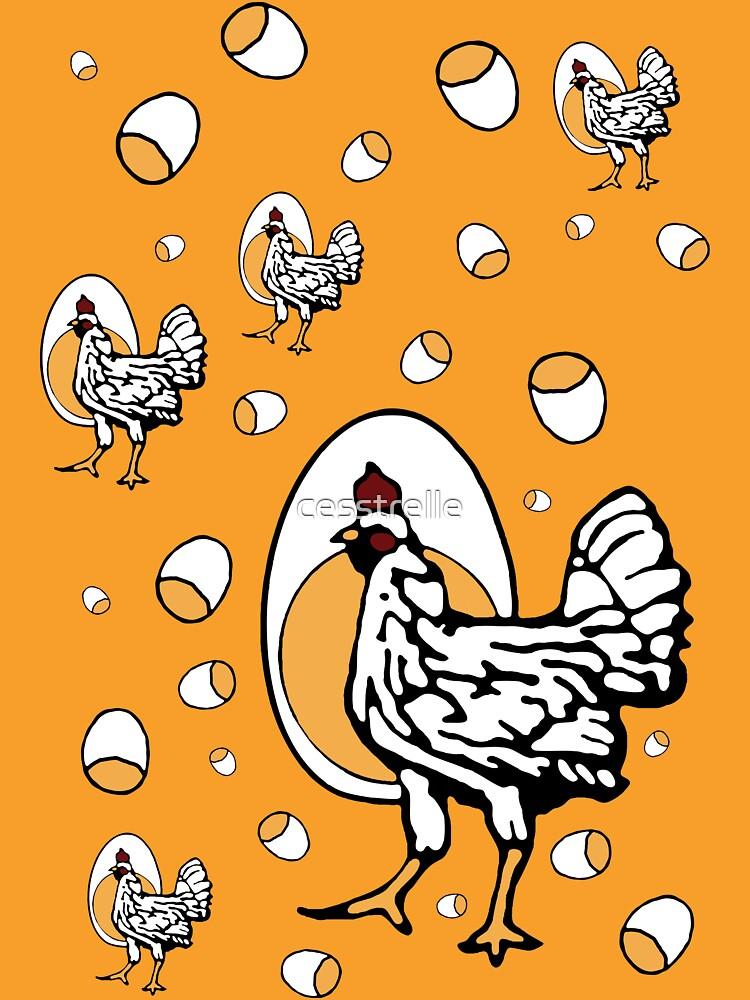 Retro Chickens | Women's T-Shirt