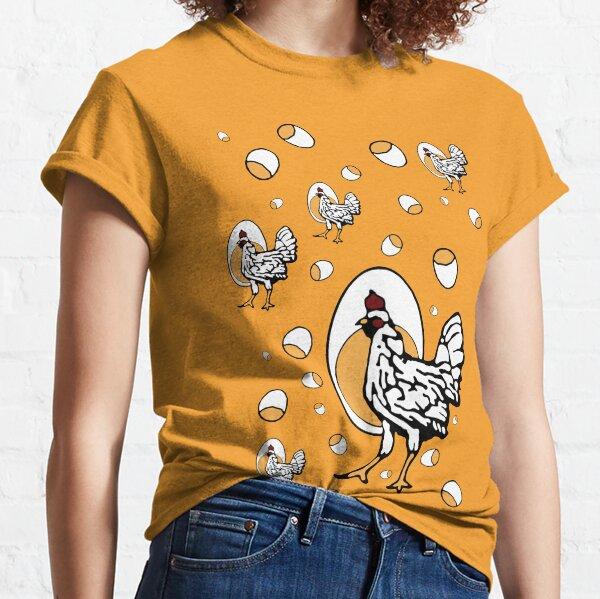 Retro Chickens Classic T-Shirt
