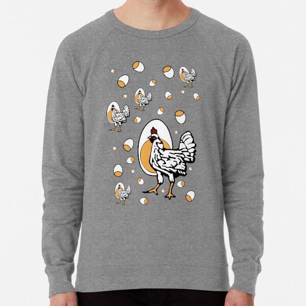 Retro Chickens Lightweight Sweatshirt