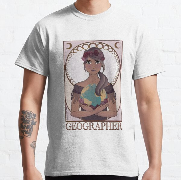 Geographer (Art Nouveau) Classic T-Shirt