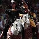 Archer on Horseback by HoremWeb