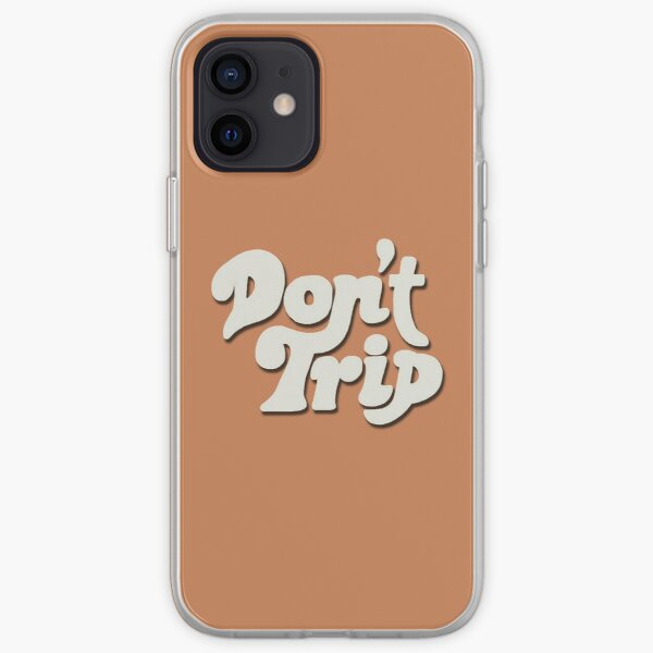 Mac Miller Don't Trip Circles Swimming Text Design iPhone Soft Case