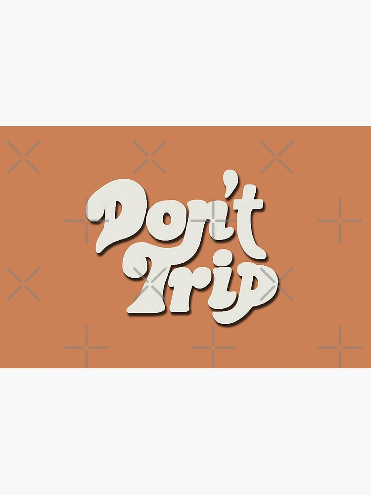 Mac Miller Don't Trip Circles Swimming Text Design by SandblockBass