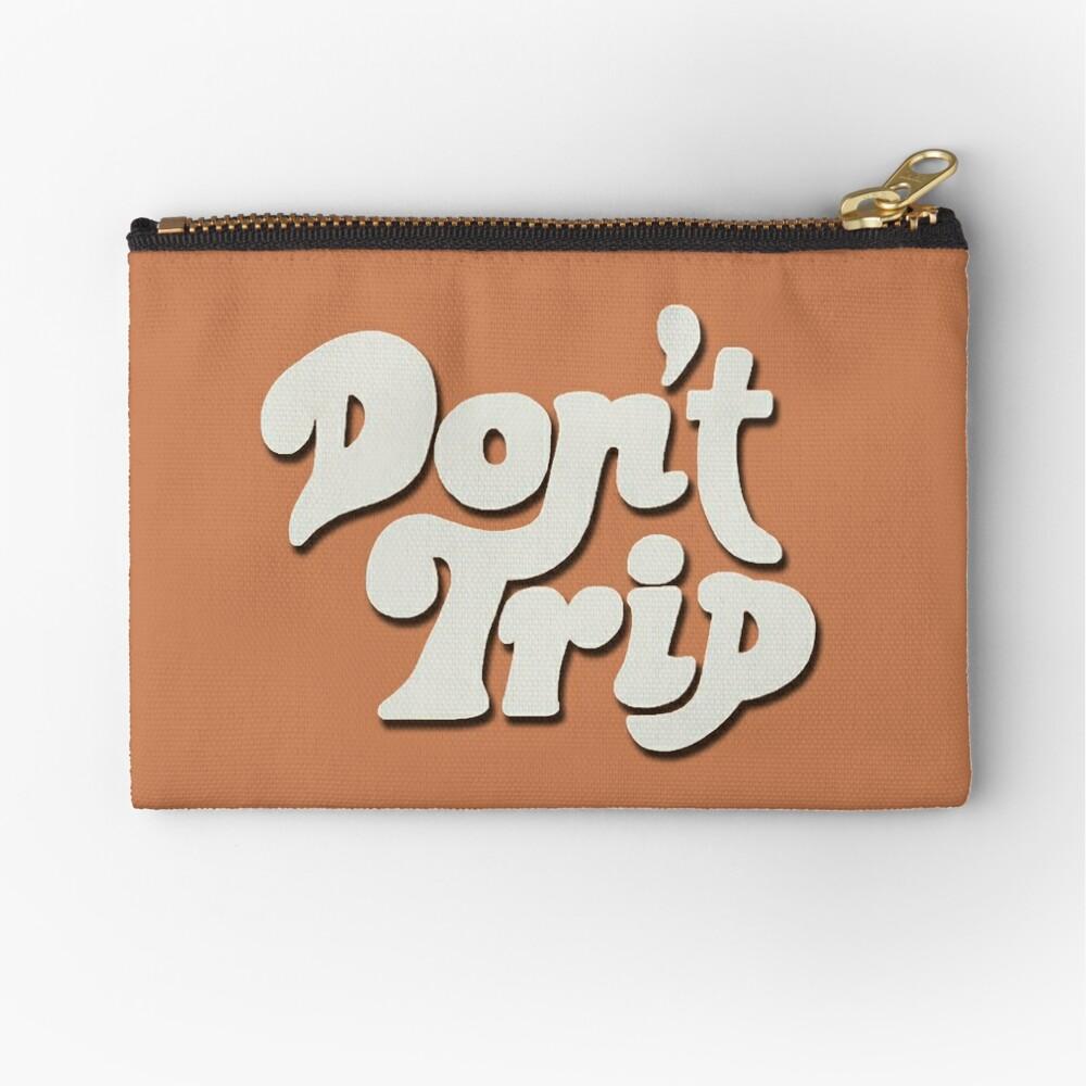 Mac Miller Don't Trip Circles Swimming Text Design Zipper Pouch
