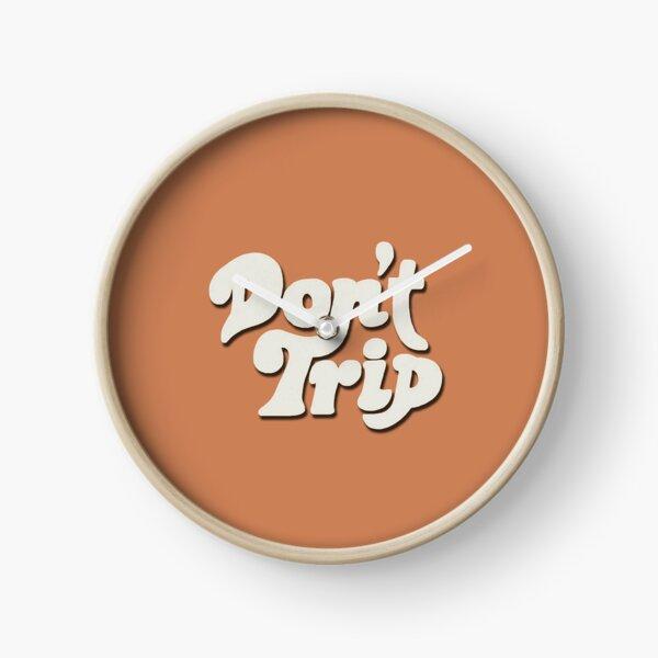 Mac Miller Don't Trip Circles Swimming Text Design Clock