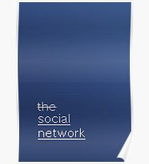 SCRIPT / the social network Poster
