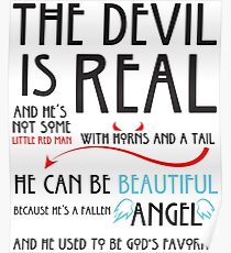 The Devil is  Real Poster
