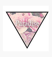Paradise Flowers Photographic Print