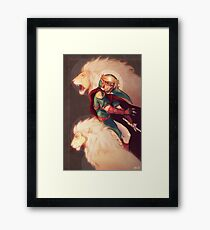 Prince of Lions Framed Print