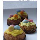 tiny eggy cakes by Babz Runcie