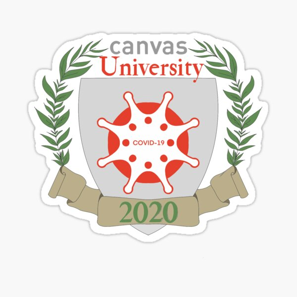 Canvas University Class of 2020 Sticker