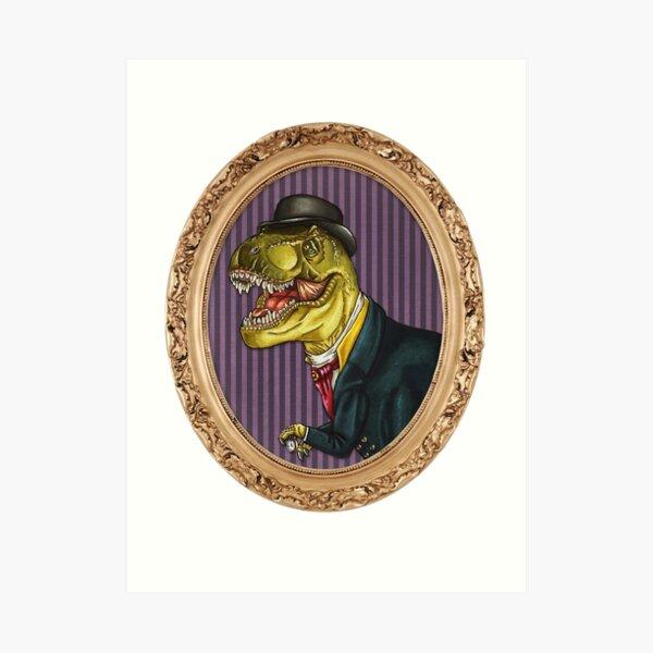 Terry the Tyrannosaurus Rex Art Print