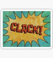 CLACK! Sticker