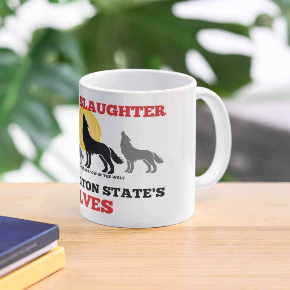 Save WA Wolves  Mug