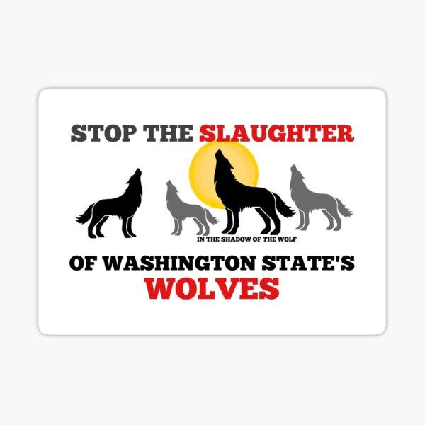 Save WA Wolves  Sticker