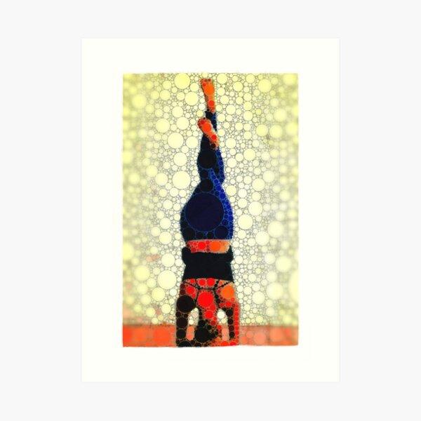 Yoga art 1 Art Print