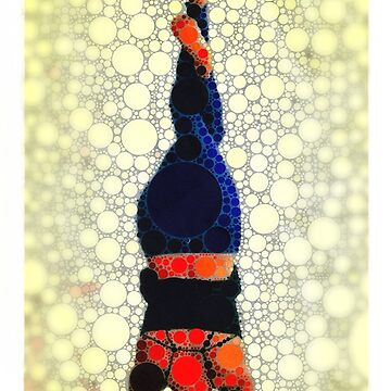 Yoga art 1 by john-dalton