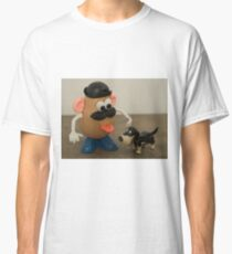 Mr Potato Head and his doggy  Classic T-Shirt