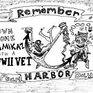 Remember Pearl Harbor Day cartoon by bubbleicious