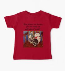 Rocking With Friends - Cat & Stuffed Animals iPhone Cases, T-Shirts & Stickers Kids Clothes