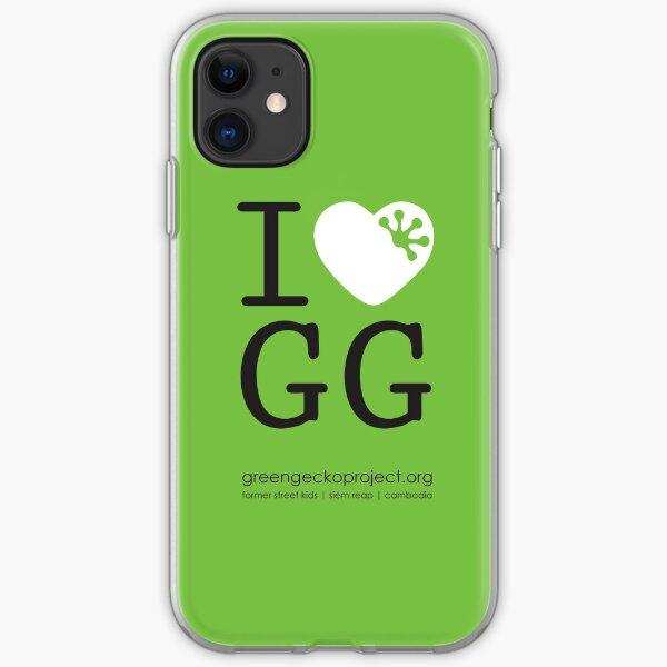 I love GG iPhone Soft Case