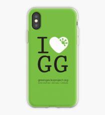 I love GG iPhone Case