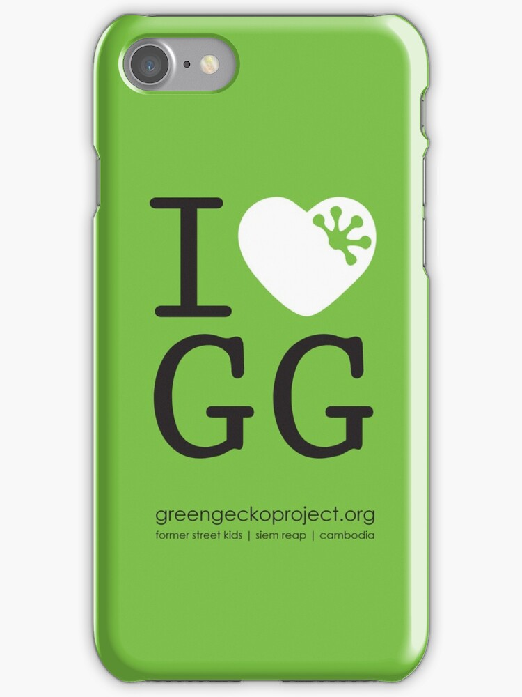I love GG by Green Gecko Project