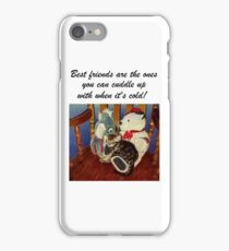 Rocking With Friends - Cat & Stuffed Animals iPhone Cases, T-Shirts & Stickers iPhone Case/Skin