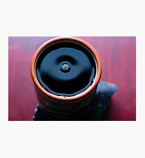 the coffee to keep you warm in the cold  Photographic Print