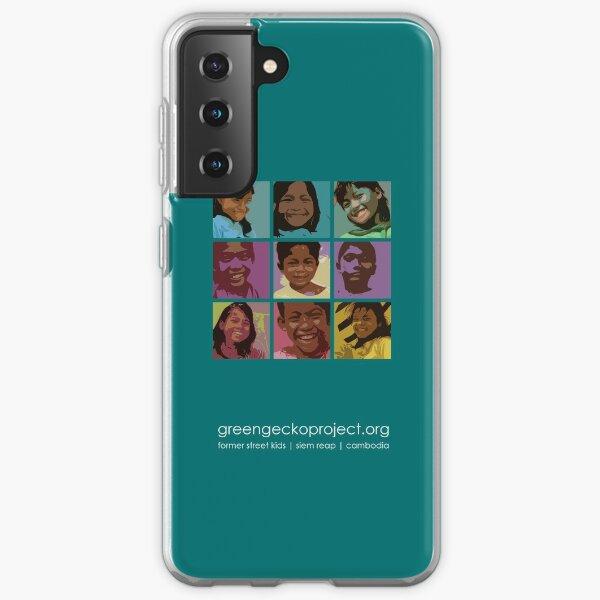 Pop art Geckos Samsung Galaxy Soft Case