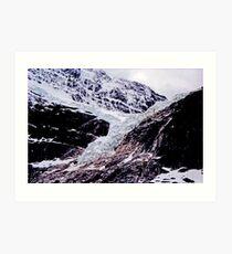 Angel Glacier, Mt Edith Cavell, Alberta, Canada Art Print