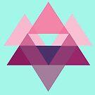 a triangular pattern by Gabrielle Agius