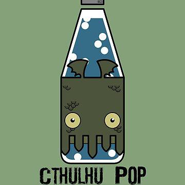 Cthulhu Pop - Taste the H.P. Lovecraft by billgaffney