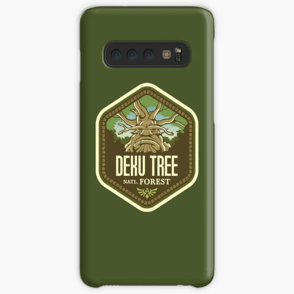 Deku Tree National Forest Samsung Galaxy Snap Case