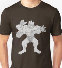 Machamp - B&W by Derek Wheatley Unisex T-Shirt